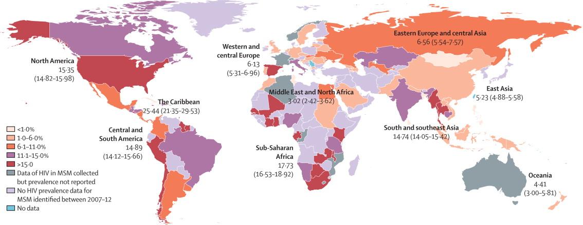 Globální epidemie HIV